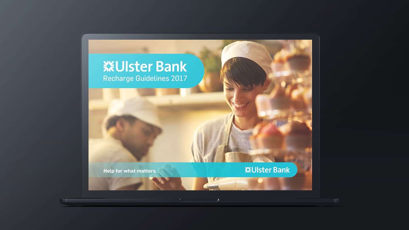 Ulster Bank - Brand Guidelines