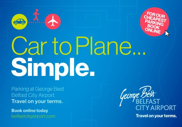George Best Belfast City Airport Branding