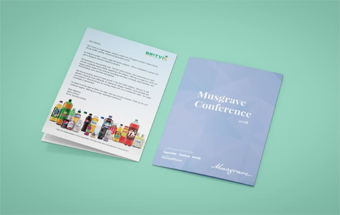 Brochure Design - Musgrave Store of the Year Awards