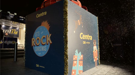 Centra Christmas TV Advertisement - Videography at Victoria Square, Belfast, Northern Ireland.