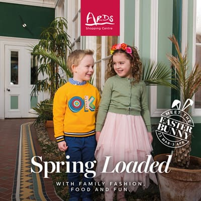 Ards Shopping Centre, Newtownards - Spring Digital Advertising Campaign