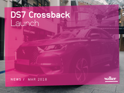 Launch of the new DS7 Crossback