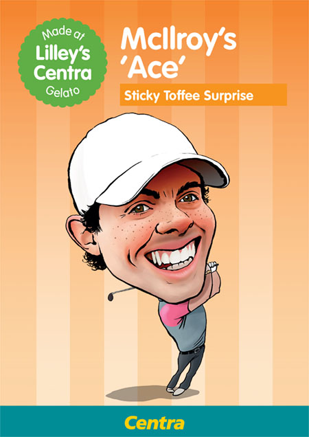 Centra Golf Campaign - Digital Advertising