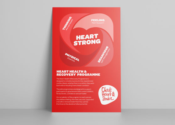 Northern Ireland Chest Heart and Stroke Leaflet