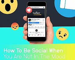 How To Be Social When You Are Not In The Mood