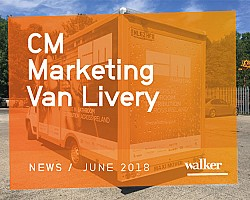 CM Marketing Van Wrap Hits the Road