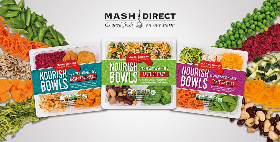 Mash Direct - Nourish Bowl Launch