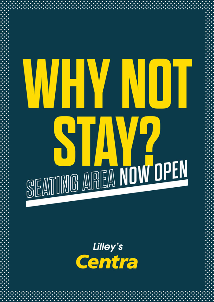 Centra Poster Design - Why not Stay?